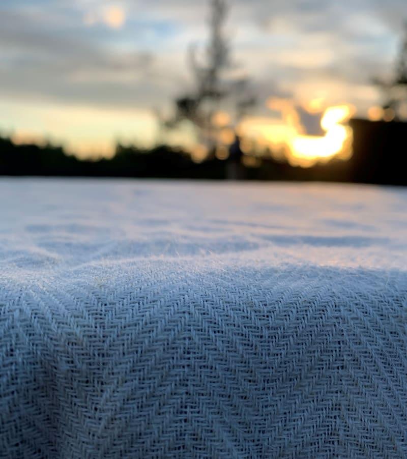 bioluxury fabrics with nettle and hemp fibre