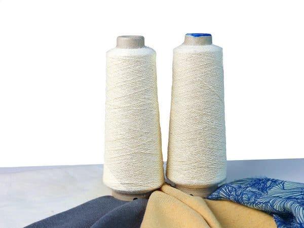 Knokkon hemp-nettle-cotton yarn