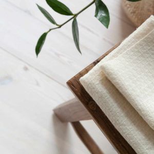 Petite Nettle Cotton Towel