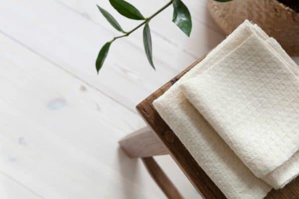 Petite Nettle Cotton Towel