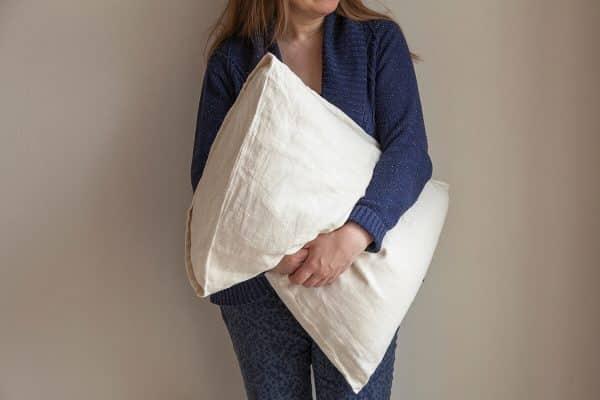 Nettle-cotton pillowcase