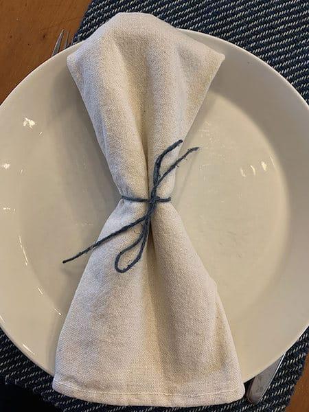 Knokkon napkin still life