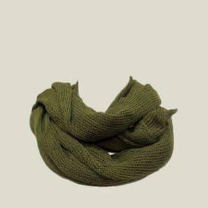 vainio.seitsonen x knokkon huivi green
