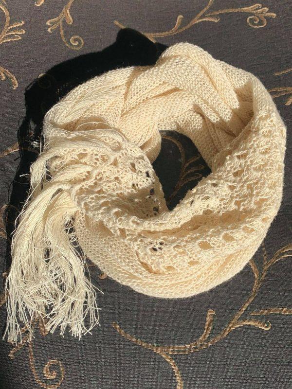 Knokkon sustainably sourced scarf